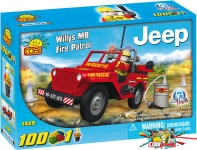 Cobi 1429 Willys MB Fire Patrol