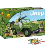 Cobi 24112 Willys MB with Machine Gun