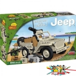 Cobi 24113 Willys MB with Mini Gun