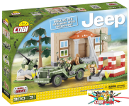 Cobi 24302 Willys MB Barracks with CheckPoint