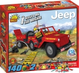 Cobi 1431 Willys MB Fire Brigade