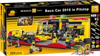 Cobi 25400 Renault Race Car 2010 in Pitstop