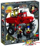 Cobi 1940 Red Monster Truck