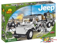 Cobi 24250 Willy´s MB Winter Squad