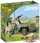 Cobi 24090 Willys MB with Machine Gun