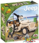 Cobi 24091 Willys MB with Minigun