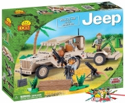 Cobi 24190 Willys MB with Mortar
