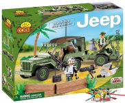 Cobi 24200 Willys MB with Mortar
